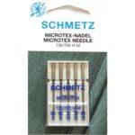 5 AGHI MICROTEX SCHMETZ | MISURA  60/80| 130/705H |MACCHINE PER CUCIRE 4006589001410