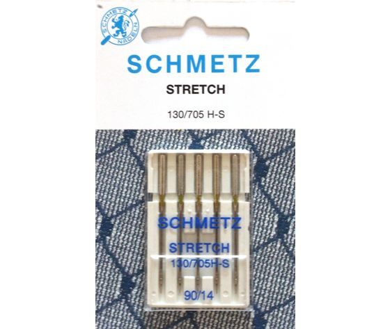 5 AGHI SCHMETZ STRETCH | MISURA 90/14 | 130/705 H-S |MACCHINE PER CUCIRE 4006589001526