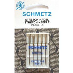 5 AGHI SCHMETZ STRETCH | MISURA 75/11 | 130/705 H-S |MACCHINE PER CUCIRE 4006589001540