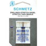 AGHI GEMELLI (TWIN) SCHMETZ | MISURA 4.0/75 | 130/705 H-S ZWI |MACCHINE PER CUCIRE 4006589001632