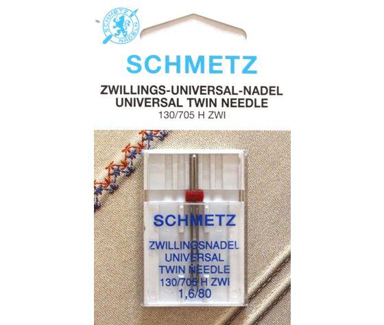 AGHI GEMELLI (TWIN) SCHMETZ | MISURA  1.6/80 | H ZWI |MACCHINE PER CUCIRE 4006589001670