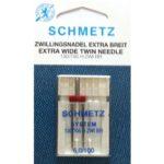 AGHI GEMELLI (TWIN) SCHMETZ EXTRA WIDE | MISURA  6/100 | H ZWI BR 130/705H | MACCHINE PER CUCIRE 4006589001861