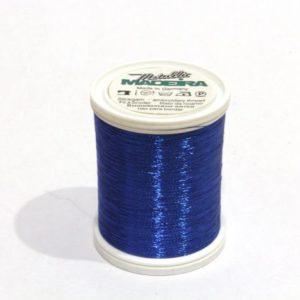 Metallizzato 1000 m spessore 40 Colore: 0338 blu 1000 m Madeira-9846-338 MADEIRA-9846-338