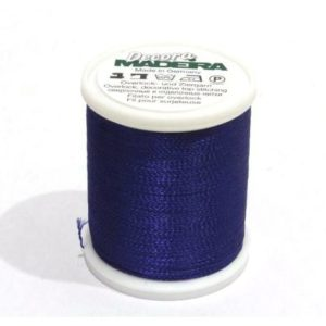 FILATO MADEIRA OVERLOCK -DECORA - No. 12-300 MT-SPOOL ROYAL BLUE MADEIRA-9870-1166