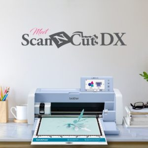 Macchina da taglio con scanner Brother Scanncut SDX 1200 (Nuovo modello)