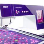 Macchina per cucire e ricamare Pfaff Creative 4.5 completa di unità di ricamo 260 x 200 2