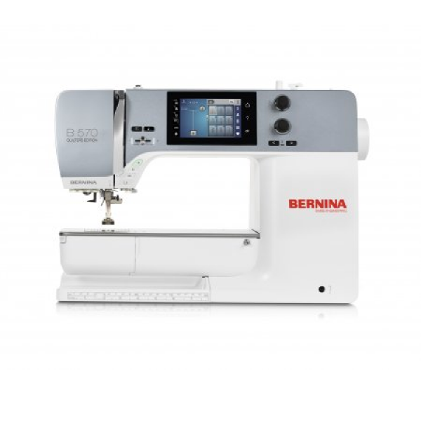 Macchina per cucire e ricamare Bernina 570 QE NEW